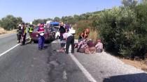 MEHMET DEMIR - Aydın'da İki Otomobil Çarpıştı Açıklaması 2 Ölü, 1 Yaralı