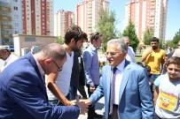 TOPLU KONUT - Başkan Büyükkılıç, Tınaztepe De Belediye Yatırımlarını Denetledi