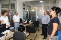 MESUT ÖZAKCAN - Başkan Özakcan Personeli İle Bayramlaştı