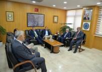 ULUDAĞ ÜNIVERSITESI REKTÖRÜ - Bursalı Milletvekillerinden BUÜ'yü Ziyaret