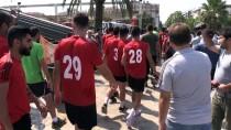 ATATÜRK - Futbolculardan 'Su' Protestosu