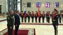 MILLI SAVUNMA BAKANı - Hulusi Akar, Rus Mevkidaşı İle Görüştü