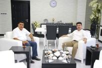MUSTAFA DOĞAN - İl Genel Meclis Başkanı Karakuş'tan Rektör Karacoşkun'a Ziyaret