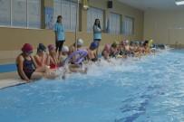 KARNE HEDİYESİ - Kırsaldaki Çocuklar Yüzme Öğrendi