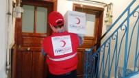 KURU FASULYE - Kızılay'dan İhtiyaç Sahibi Ailelere Gıda Yardımı