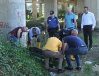 112 ACİL SERVİS - Kızılırmak'ta Erkek Cesedi Bulundu
