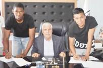 Kolombiyalı Futbolcularla Resmi Sözleşme İmzalandı