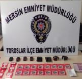 RUHSATSIZ SİLAH - Mersin'de Çeşitli Suçlardan Aranan 38 Kişi Yakalandı