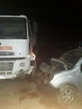 112 ACİL SERVİS - Midyat'ta Trafik Kazası Açıklaması 2 Yaralı