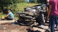 Ordu'da Trafik Kazası Açıklaması 2 Ölü, 4 Yaralı