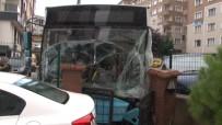 KAMERA - Otobüs Kazası Güvenlik Kamerasında