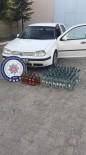 VOTKA - Otomobilden 89 Şişe Kaçak Alkol Çıktı