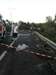 ONDOKUZ MAYıS ÜNIVERSITESI - Samsun'da Tır Traktöre Çarptı Açıklaması 2 Ölü, 2 Yaralı