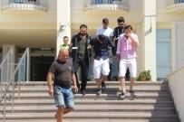 DİZÜSTÜ BİLGİSAYAR - Şapka Takıp Tişört Giyerek Kılık Değiştiren Hırsız Kıs Kıvrak Yakalandı