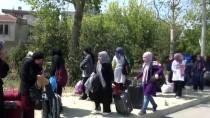 MEHMET TÜRK - Seyir Halindeki Otobüste Yangın