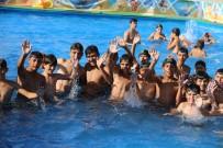Suriyeli Çocuklar İçin Açılan Havuza Yoğun İlgi