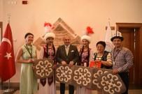 AZERBAYCAN - Taşköprü'de Yabancı Folklor Gruplarıyla Resepsiyon Yapıldı