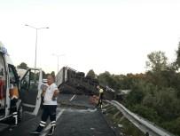 ONDOKUZ MAYıS ÜNIVERSITESI - Tır Traktöre Çarptı Açıklaması 2 Ölü, 2 Yaralı