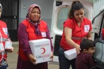 GIDA YARDIMI - Türk Kızılayı Eskişehir Şubesi Yardımlarına Devam Ediyor