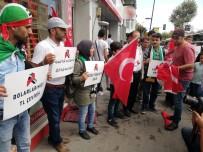 DÖVİZ BÜROSU - Türkiye'ye Destek İçin Dolar Yaktılar