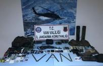 KAYGıSıZ - Van'da Etkisiz Hale Getirilen Teröristlerin Sığınağı Bulundu