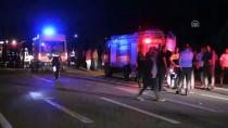 Afyonkarahisar'da İki Otomobil Çarpıştı Açıklaması 3 Ölü, 6 Yaralı