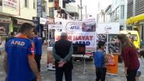 ANMA ETKİNLİĞİ - Ağrı AFAD Marmara Depremini Unutmadı