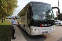 KURAL İHLALİ - Bayram Önces Yolcu Otobüslerine Şok Denetim