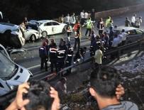 ORTAKARAÖREN - Bayram tatilinin ilk gün kaza bilançosu: 19 kişi öldü, 91 kişi yaralandı