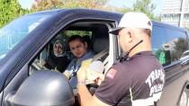 TRAFİK DENETİMİ - Bayramın 'Çocuk Trafik Polisleri' Görev Başında