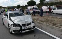 Çorum'da Trafik Kazası Açıklaması 1 Ölü, 1 Yaralı