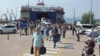 Deniz Otobüslerinde Tatilci Yoğunluğu