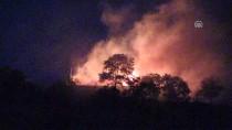 Erzincan'da Askeri Gazinonun Ek Hizmet Binasında Yangın