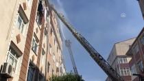 Güngören'de Apartman Dairesinde Yangın