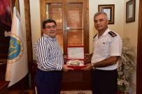 ALI YıLDıZ - Jandarma Albay Yıldız'dan Başkan Can'a Veda Ziyareti