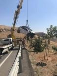 Mardin'de Trafik Kazası Açıklaması 1 Yaralı