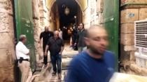 OTURMA EYLEMİ - Mescid-İ Aksa'nın Kapıları Yeniden Açıldı