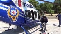 TRAFİK DENETİMİ - Muğla'da 'Helikopterle' Bayram Denetimi