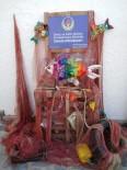 ALAÇATı - Öğrenciler Sahil Ve Denizden Topladığı Atıkları Sanat Eserine Dönüştürdü