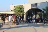 FERİBOT SEFERLERİ - Tatilciler 9 Günlük Bayramda Ege Adaları Yerine İç Turizme Yöneldi