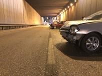 Alkollü Sürücü Zincirleme Kazaya Yol Açtı Açıklaması 3 Yaralı