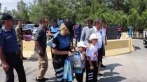 ALTUNTAŞ - Burdur Valisi Şıldak, Trafik Denetimine Katıldı