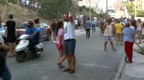 ASKERİ HASTANE - Çanakkale'de Otluk Alanda Yangın