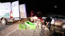 Çankırı'da İki Otomobil Çarpıştı Açıklaması 1 Ölü, 10 Yaralı