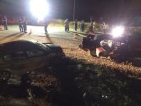 Çankırı'da Trafik Kazası Açıklaması 1 Ölü, 10 Yaralı