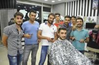 Diyarbakır'da Kuaförlerin Bayram Mesaisi Yoğun Geçiyor