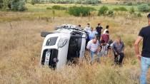 Erzincan'da Otomobil Şarampole Devrildi Açıklaması 6 Yaralı