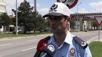 TRAFİK KURALLARI - Eskişehir'de Bayram Trafiğine 'Drone'lu Denetim