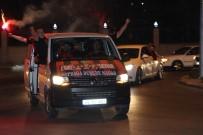 TAKIM OTOBÜSÜ - Eskişehirspor Şampiyon Gibi Uğurlandı