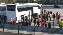 TÜRK TELEKOM ARENA - Göztepe Taraftarları Polis Eşliğinde Stada Gönderildi